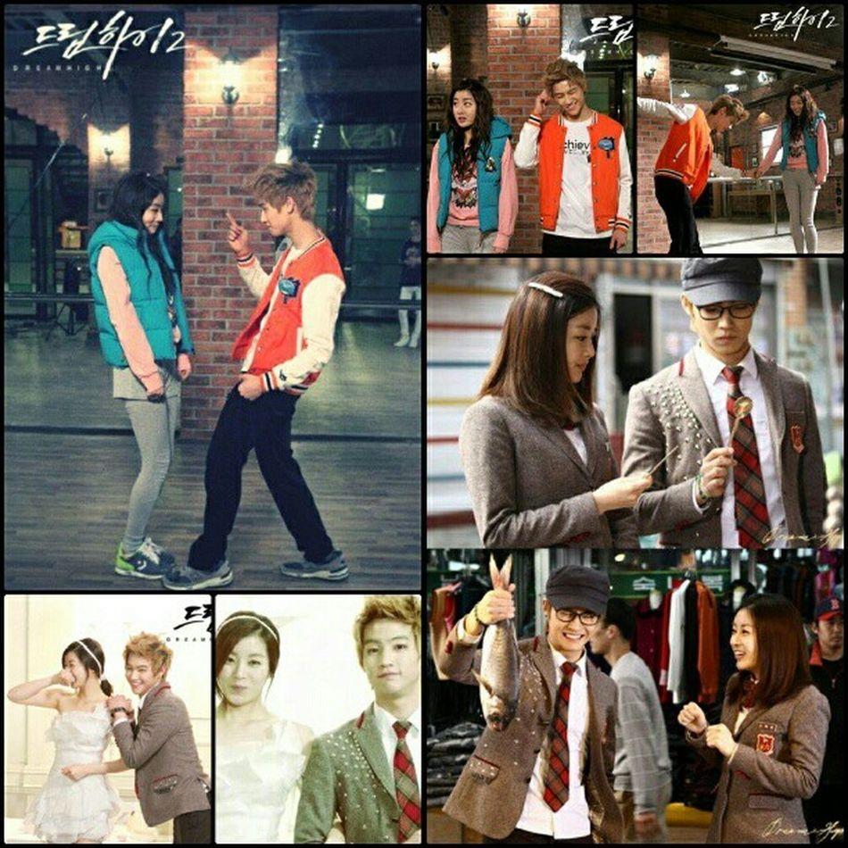 Jae bum and Kang sora <3 Rubikcouples Sweet Love Korea dreamhigh2 kiligmuch