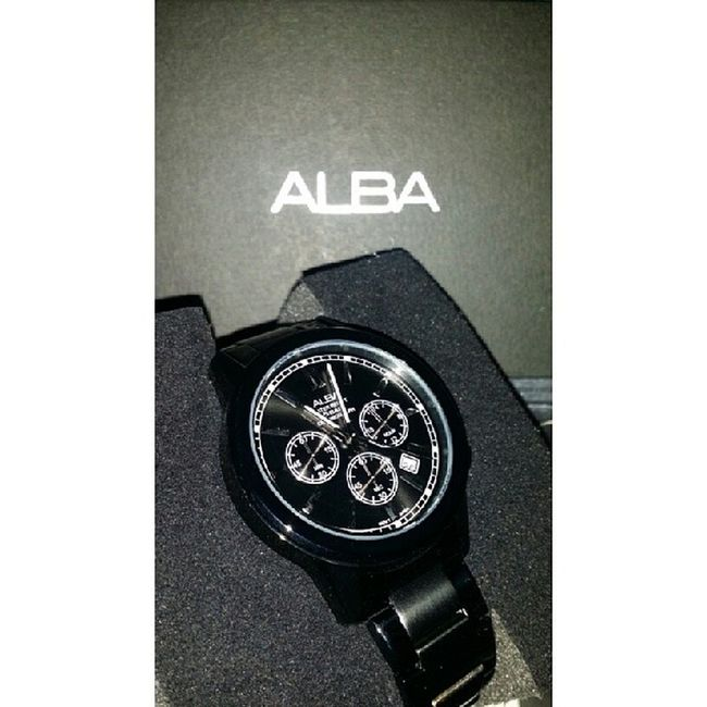 Second wife. ? Alba ALBAWATCH STAINLESSSTEEL Black