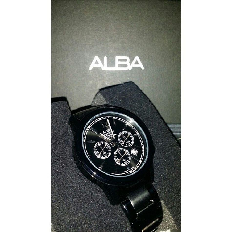 Second wife. ? Alba ALBAWATCH STAINLESSSTEEL Black