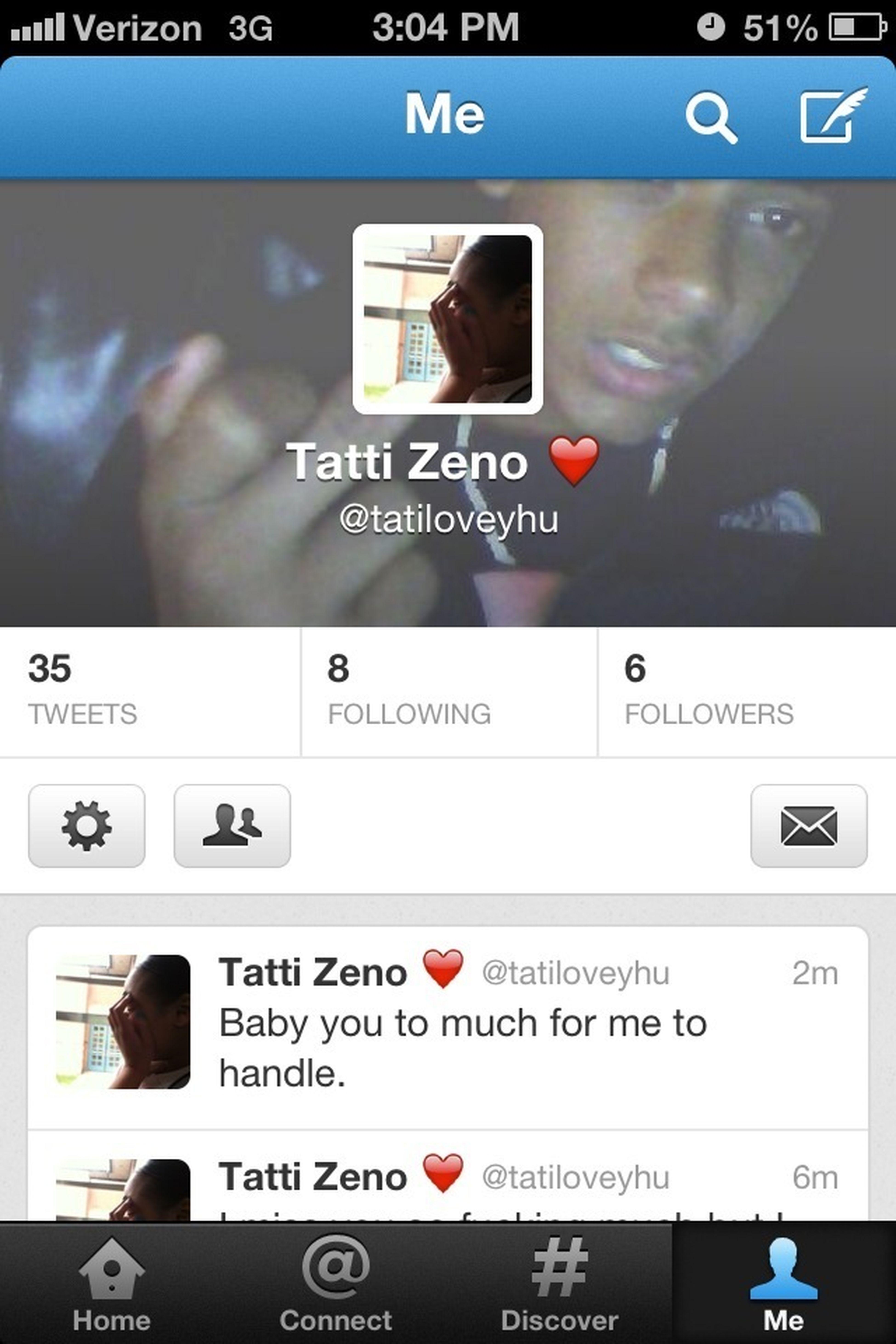 Made a new twitter finally follow me ❤