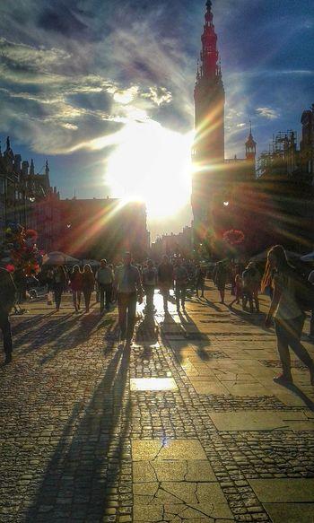 Gdansk Poland Street Photography Shadows
