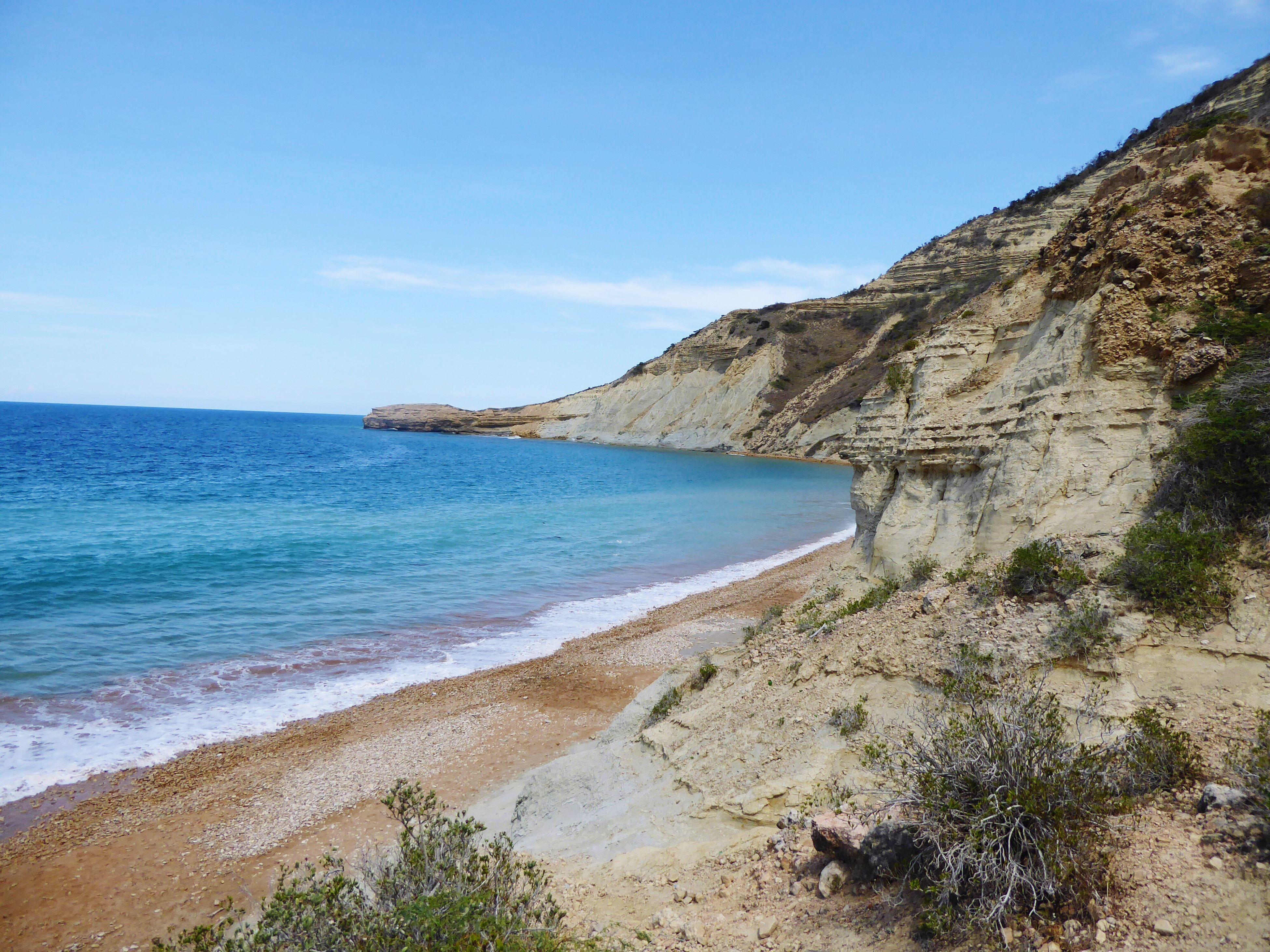 Cliffs at the beach Cliffs Sea Beach