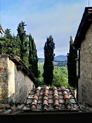 Taking Photos in Radda in Chianti by steve