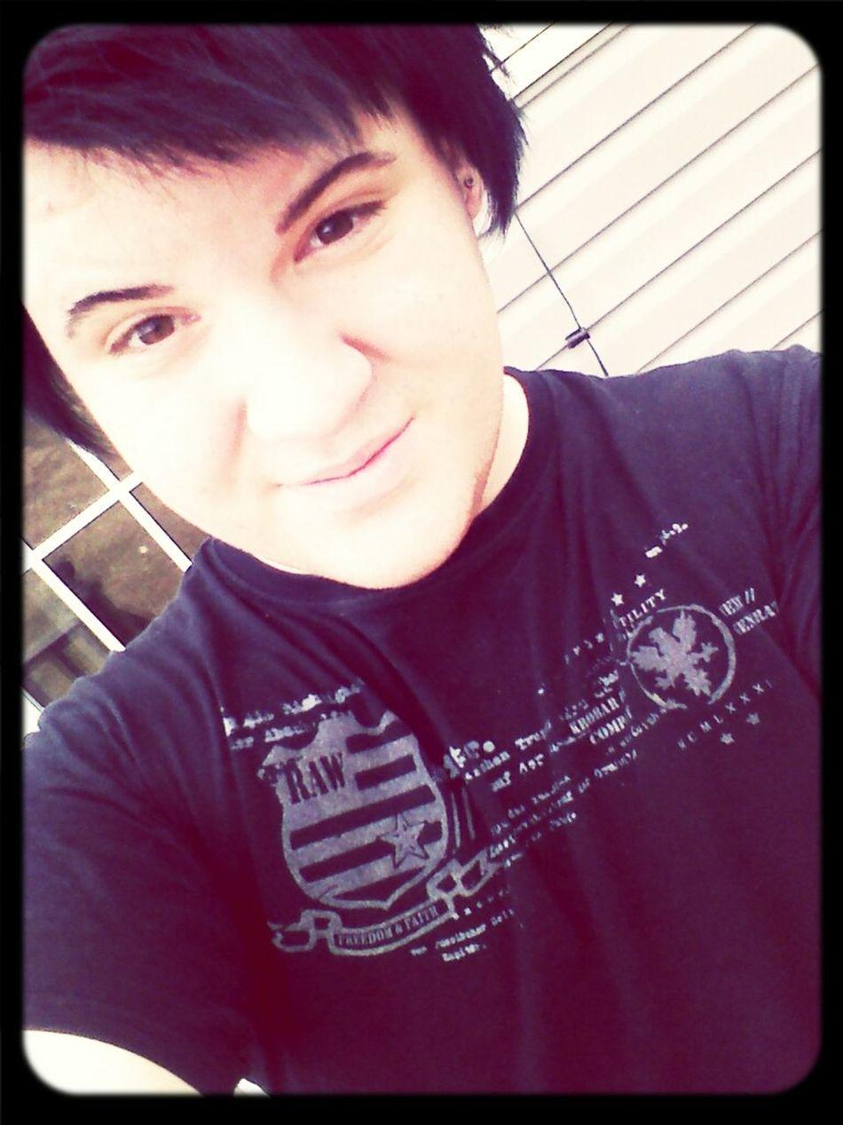 Back to black hair <3