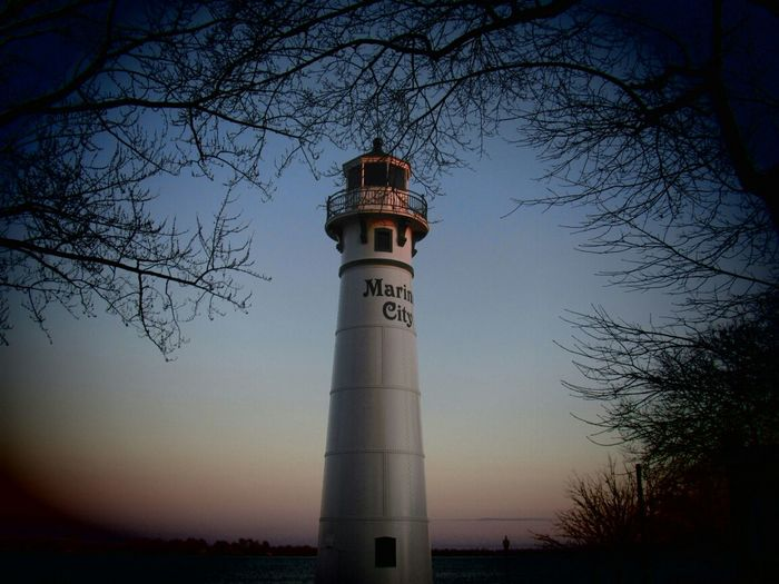 Marine City, MI Lighthouse First Eyeem Photo
