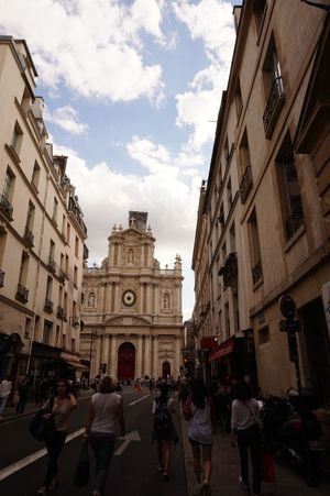 Paris, France  Street Architecture Real People Cathedral No Filter, No Edit, Just Photography
