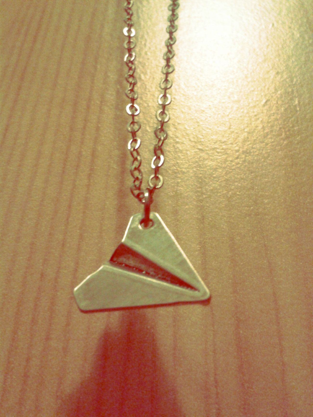Paperplanes Necklace Beautiful Fly away with me.