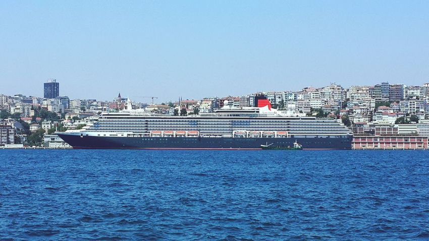 Queen Victoria-Cunard line İstanbul Travel