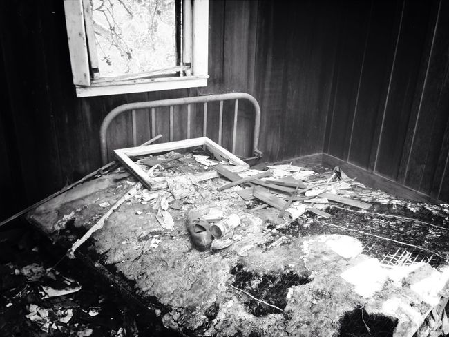 How can we sleep while our beds are burning? Abandoned Buildings Decay