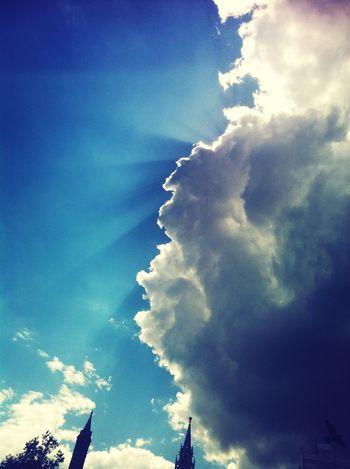I need Blue sky and sunshine