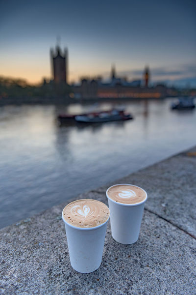 Coffee Thames Big Ben Britain City Close-up Coffee Copy Space Cups England Focus On Foreground Full Frame Hearts London Love No People Outdoors Sunset Taking Photos Together Tranquility Travel Uk Valentine Water London Lifestyle White Cup Neighborhood Map