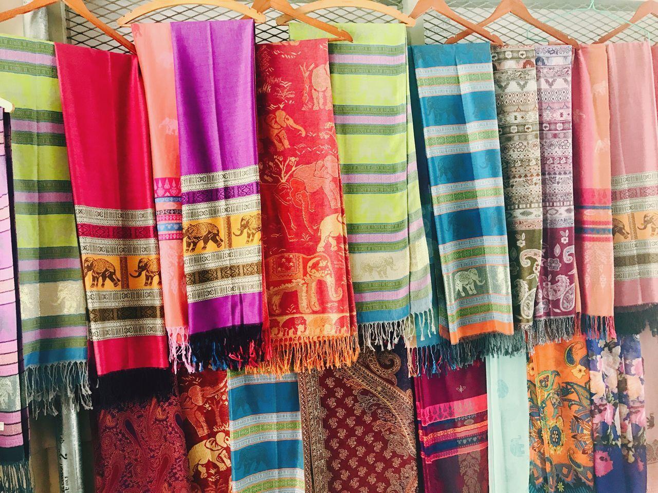 Scarf Handmade Colors Colorful Sukhothai Sukhothaihistoricalpark Thailand