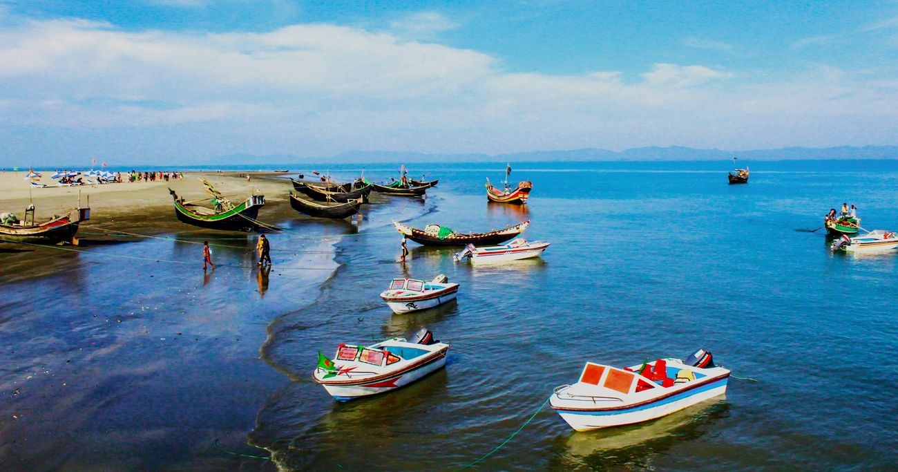 Nature Sea And Sky Beach Boats⛵️ Water Water And Sky Awesome Nature