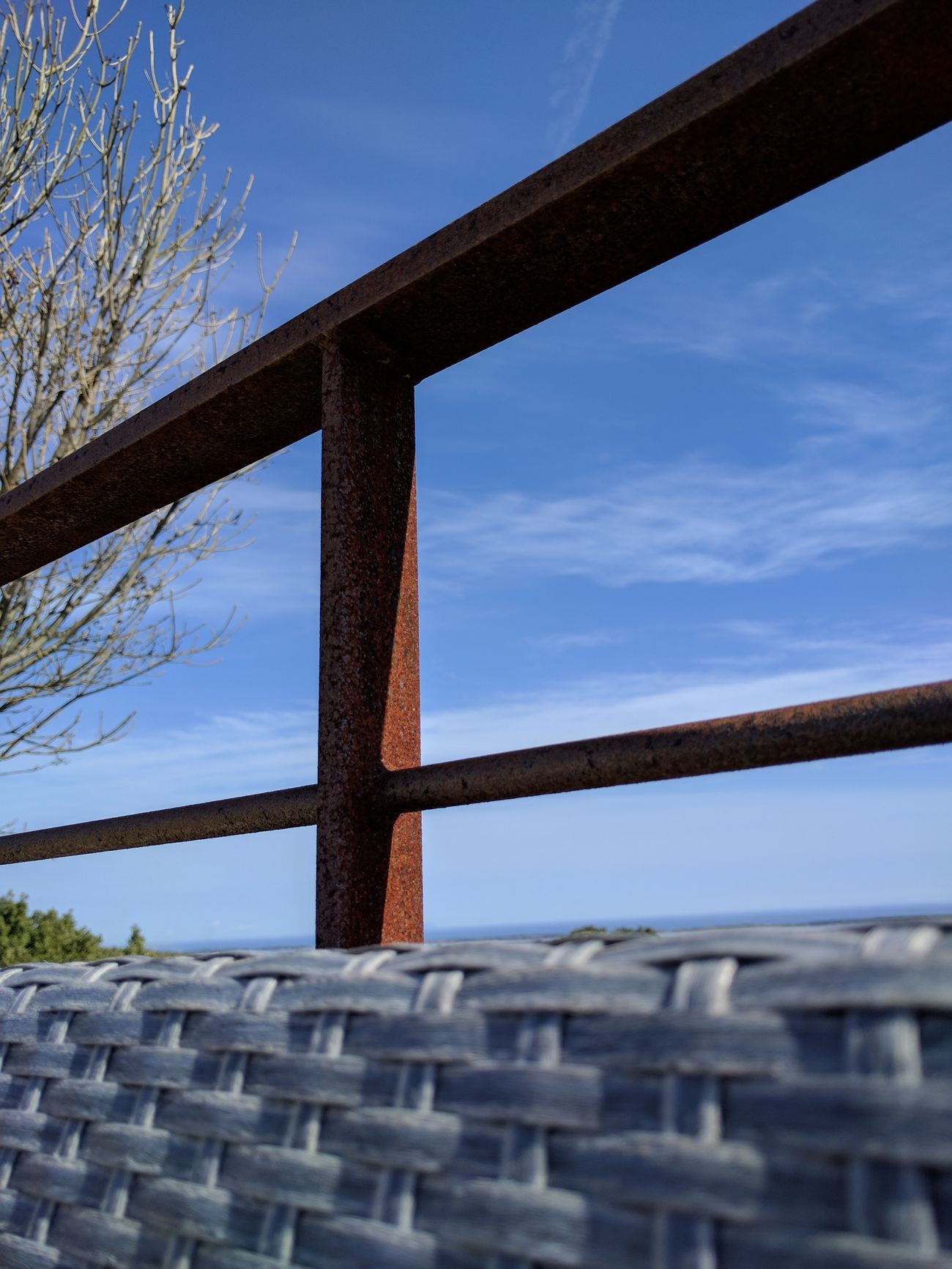 Sky Outdoors Nature Day Metal Rust Corse