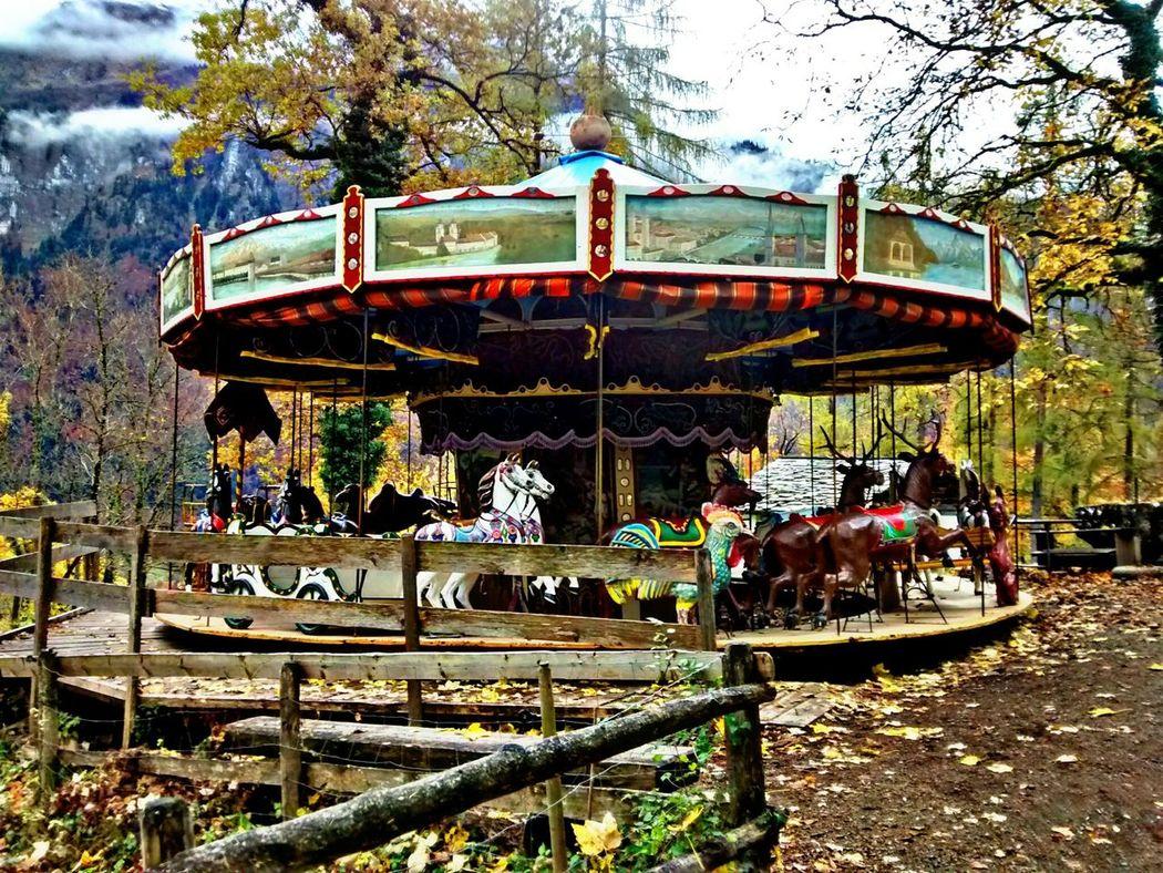 Autumn🍁🍁🍁 HDR Hdr_Collection Taking Photos Merrygoround Fairground Attraction Switzerland