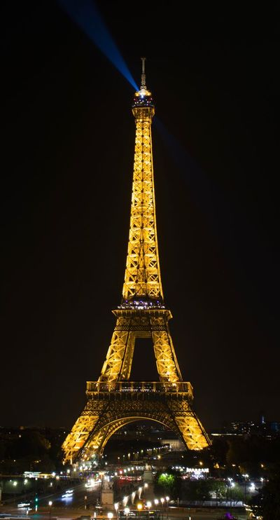 Eiffeltower by Night Architecture Tower Built Structure Tall - High Travel Destinations Night Tourism City Illuminated Clear Sky Outdoors Building Exterior No People Sky Eiffel Tower Tour Eiffel