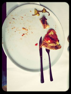 bye bye pizza at Papà Pane di Sorrento by Tobias Heine