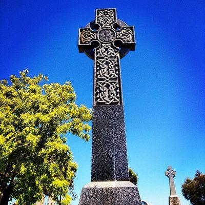 #bluetuesday #blue #bluesky #celticcross #tombstonetuesday #myhometown #drysdale #bellarine #cemetaryshots Blue Bluesky Tombstonetuesday Myhometown Celticcross Bluetuesday Drysdale Bellarine Cemetaryshots