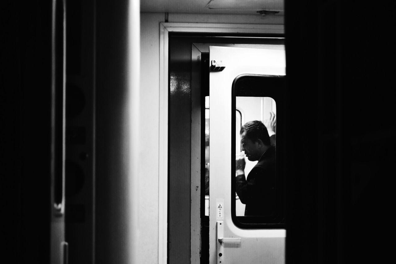 On The Train Training Lifestyles EyeEm Gallery Blackandwhite Smoke