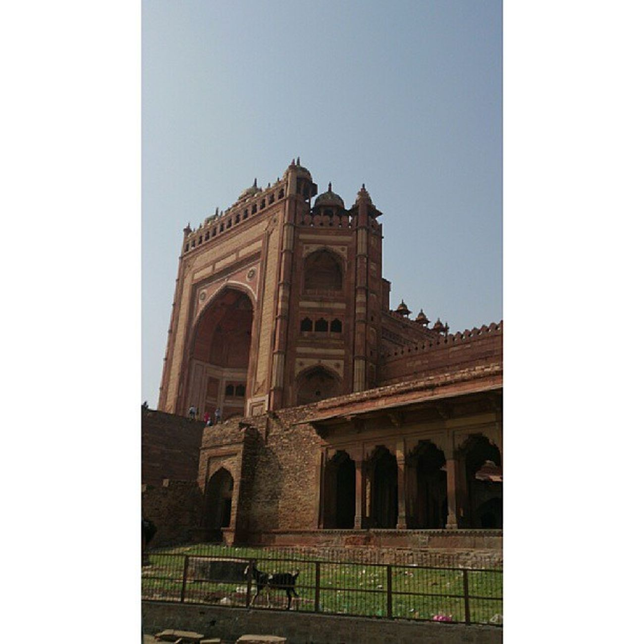 BulanddarwazaFatehpursikri Agra India Asias Longest Door Mughal History Victory Dargah People Faith Forts