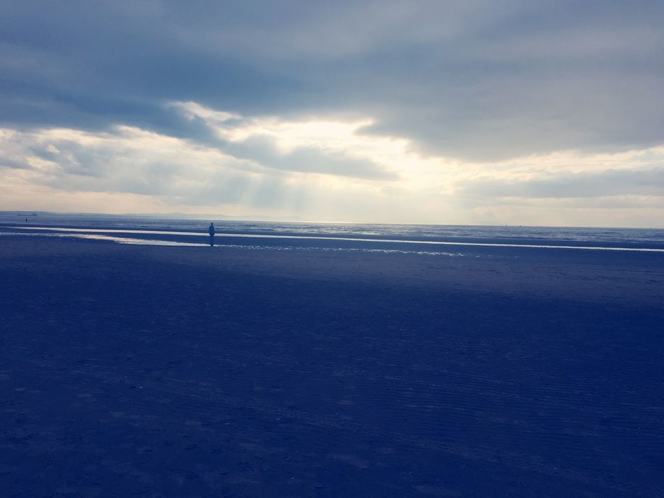 Antony Gormley Crosby Beach