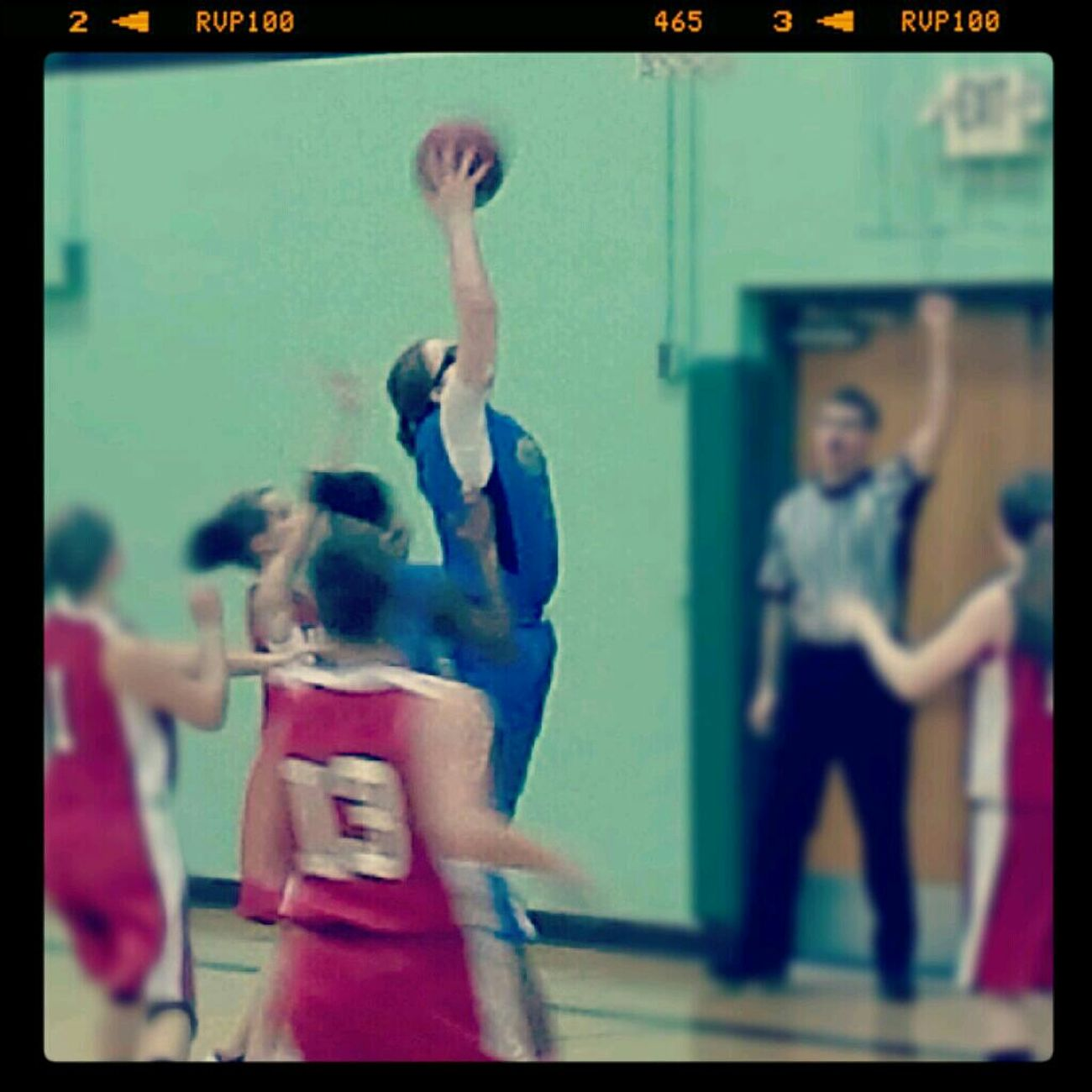 Getting Up For That Rebound #BallsLife