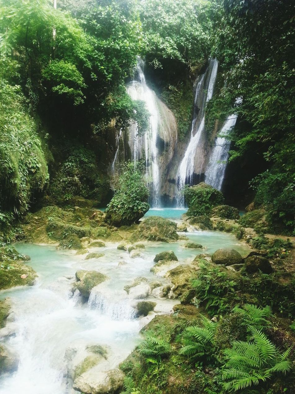 Nature Water Falls Philippines Paradise Kabankalan Traveling