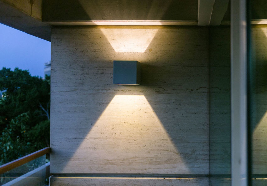 Architecture Home Light Lighting Decoration Lighting Equipment Lights Modern Architectural Column Architecture Balcony Built Structure Decoration Design Indoors  Lighting Mouse Night No People Refliction Shadow Sunlight