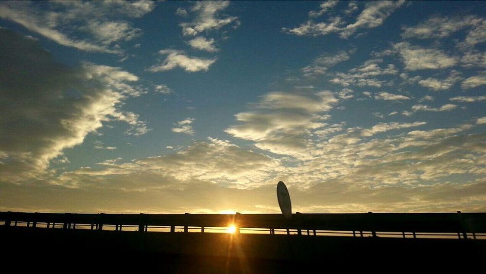 Lovetheview Lovethesky Skywatcher SkyAddict Clouds And Sky Sunrise Sunisshining Roadtohome Enjoying Life ThisKindOfMorning