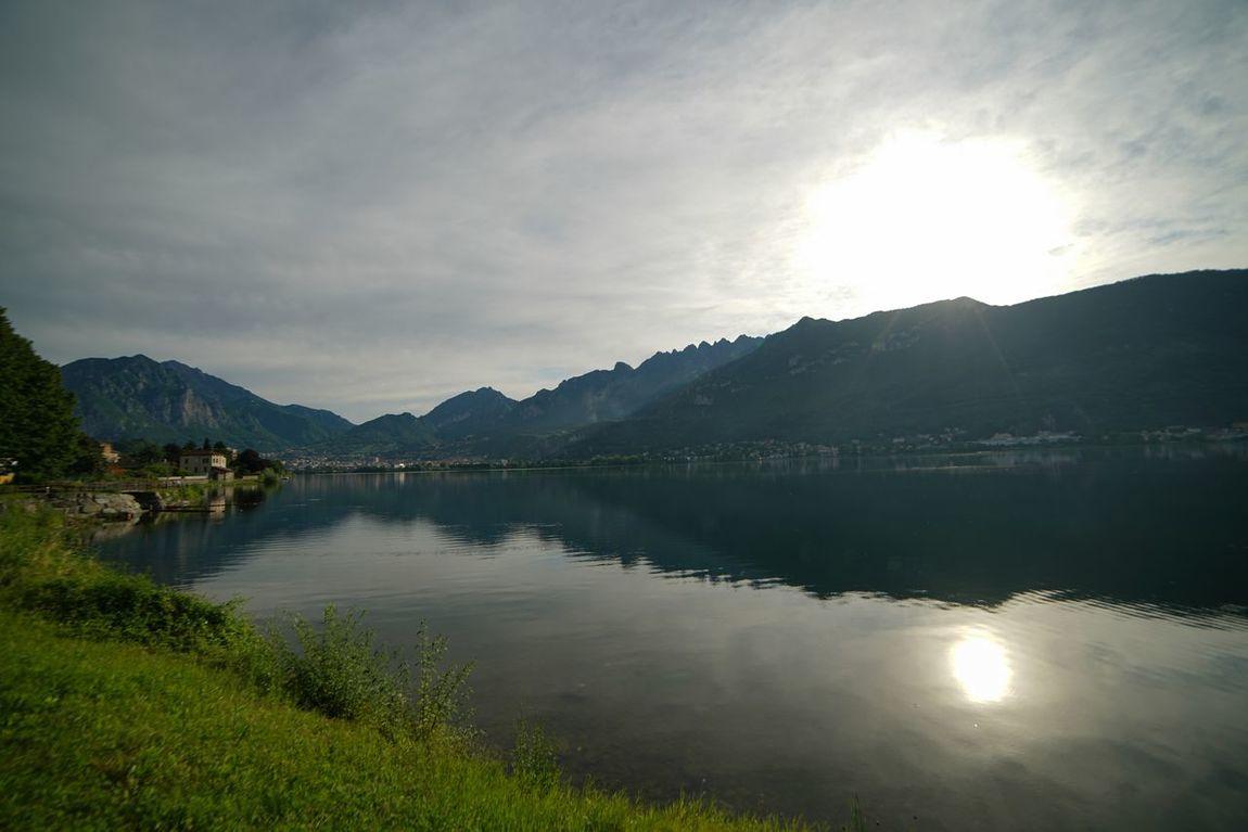 Samyang 14㎜ ƒ/2.8G Lago Di Como, Italy Sony A7r2 Mattina Presto Lecco Alba Bluesky Lago Lago Di Garlate Lake View Italia Luca Riva