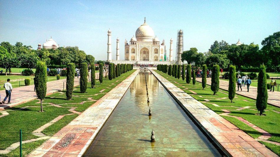Taj Mahal, India, Wonder, Love, Mughals, Place Of Worship Shahjahan Mumtaj Architectural Feature Beautiful Creation ✌👌✌ Miles Away