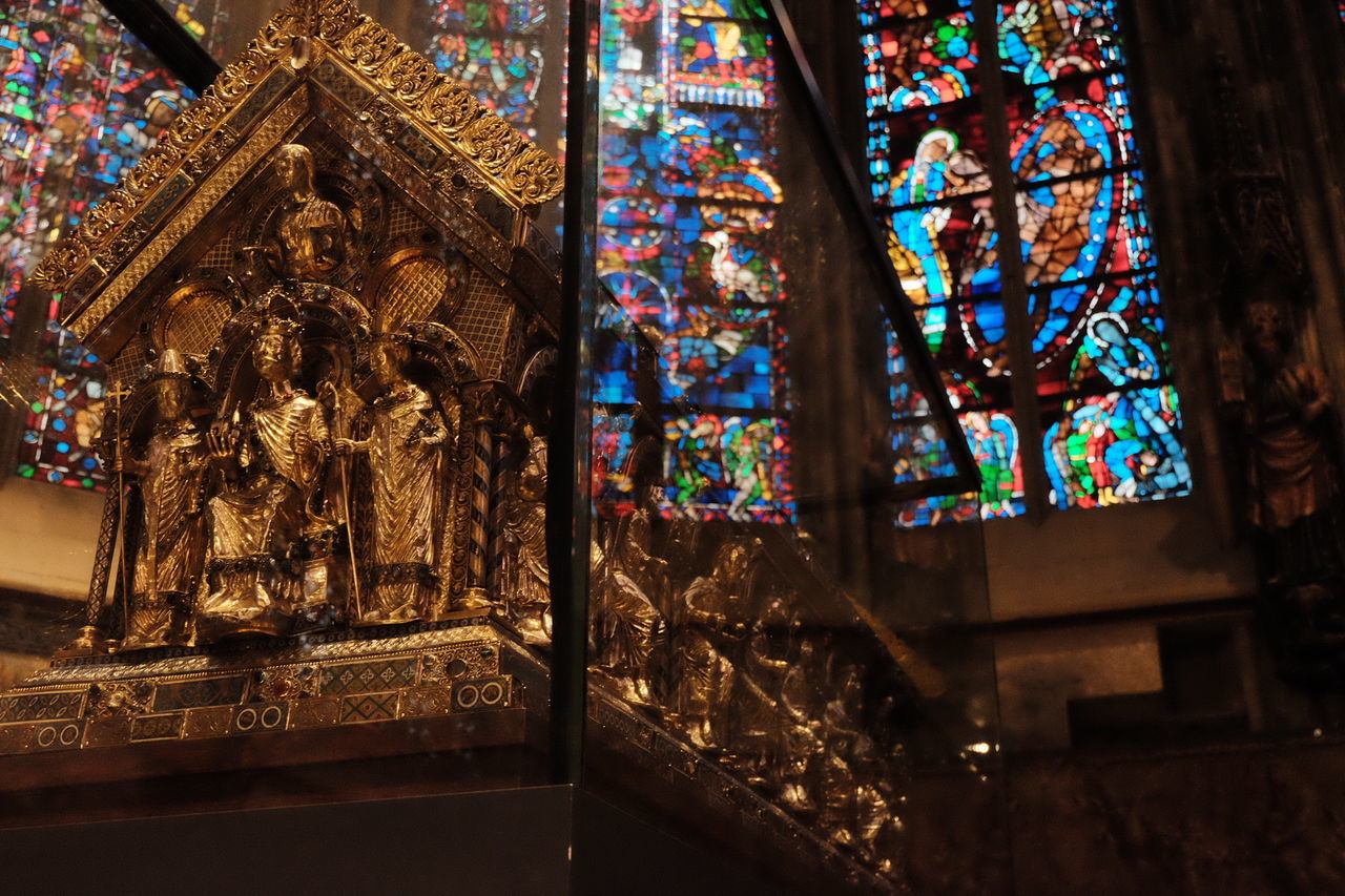 Fujifilm Aachen Aixlachapelle Aquisgrana Aachener Dom Dom Gothic Gothic Beauty  Gothic Architecture Charlemagne Karl Der Große Carlomagno Germany Rhineland Deutschland Might Burial Glasswork Gold Art Architecture Relics