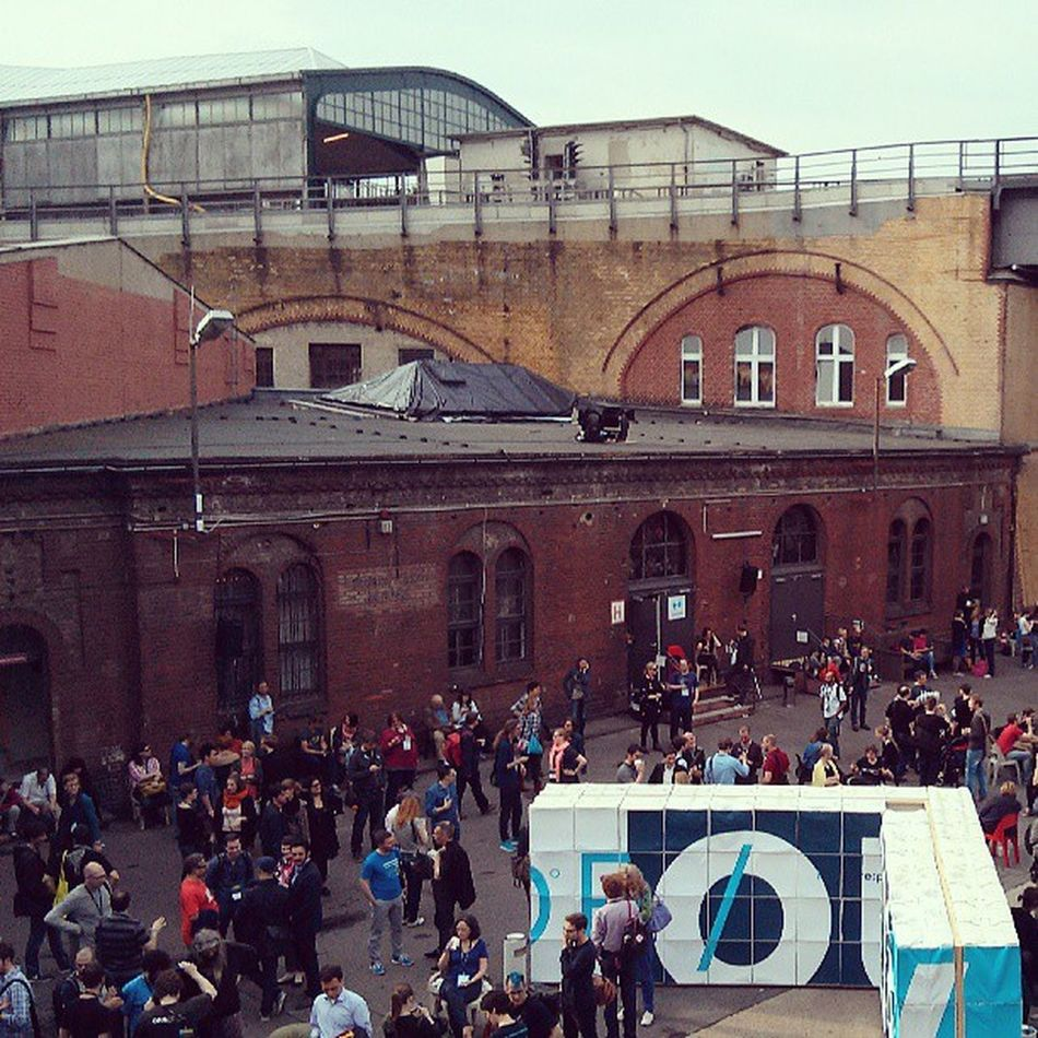 Schön wars heute auf dem 2. Tag der re:publica #rp13 Berlin Station República  Rp13 Rpstory13 Stationberlin