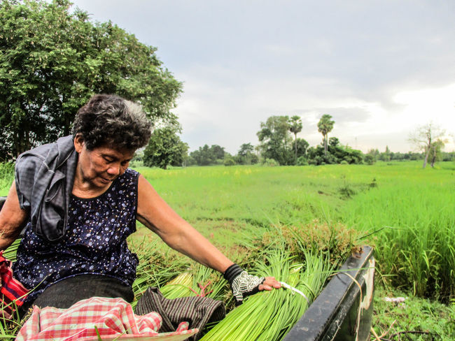 Moments Of Life Women Farmer Happiness Nature Happy Beauty In Nature Photographing Photograph Black Background City People Lifestyles Photoart Thailand🇹🇭
