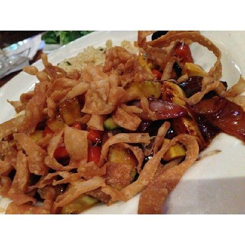 And the main dish Sesameglazedsteak feeling like a hungry woman today... lol so bad!!!!