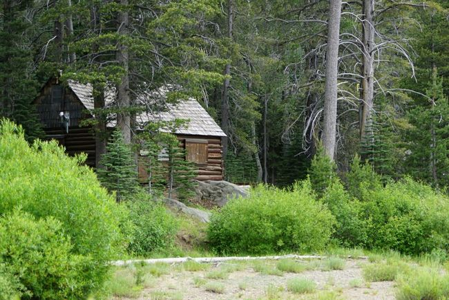 Cabin In The Woods Log Cabin Hermit Valley California On The River