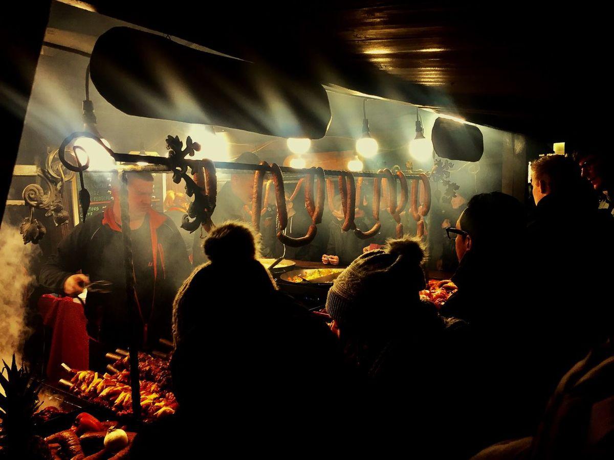 Crowd Night Illuminated Nightlife Audience Shadows & Lights Xmas Market Xmas XMas Spirit Xmas Food Krakow