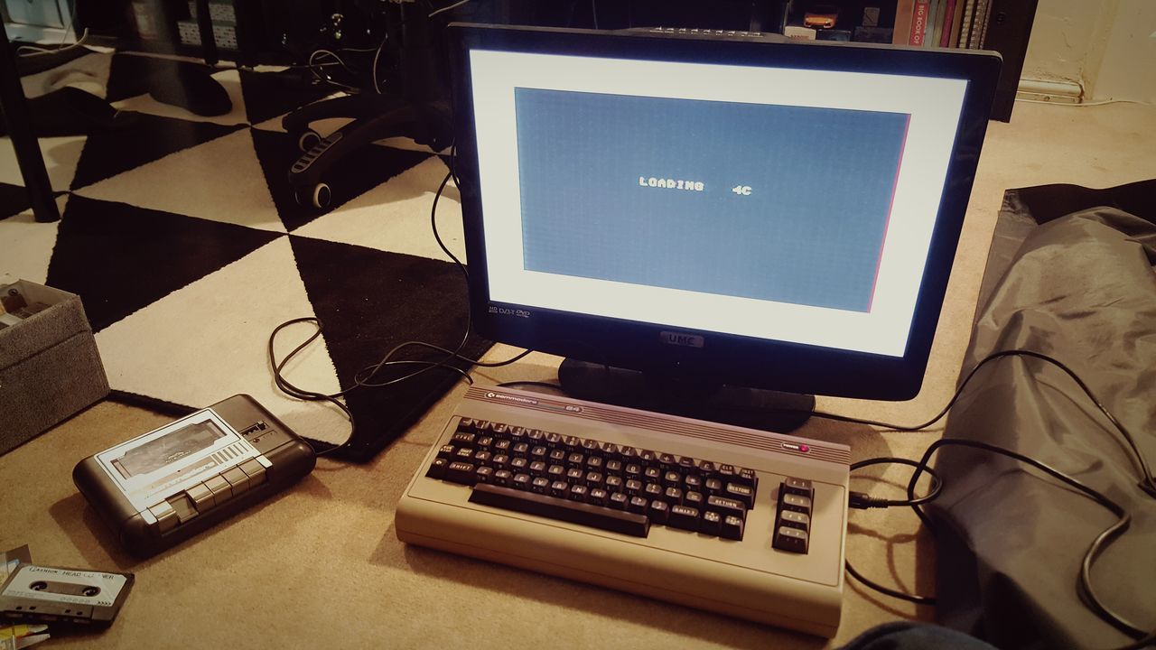 Old school computer meets modern display Computer Computer Monitor Commodore 64 PC Personal Computer Technology Desktop Pc Old Pc Old Computers Old Computer Computer Keyboard Indoors  Desk No People Electric Guitar Close-up Day First Eyeem Photo