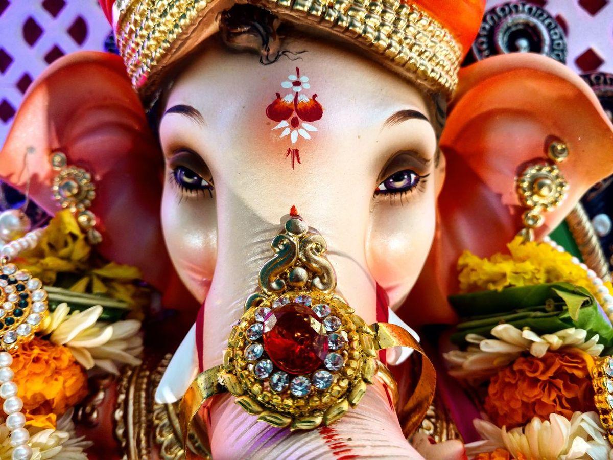 Ganpati idol Celebration Ganesh Ganesha Ganesha Chaturthi Ganesha Lord Of Success Ganesha Portrait Ganesha Idols Ganeshafestival Ganeshatattoo