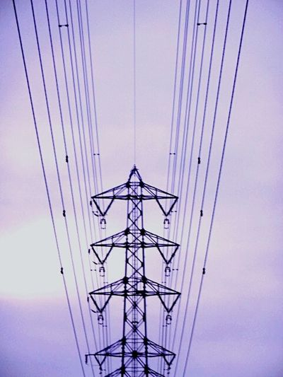 Popular Photos An Electric Wire A Steel Tower A Pylon