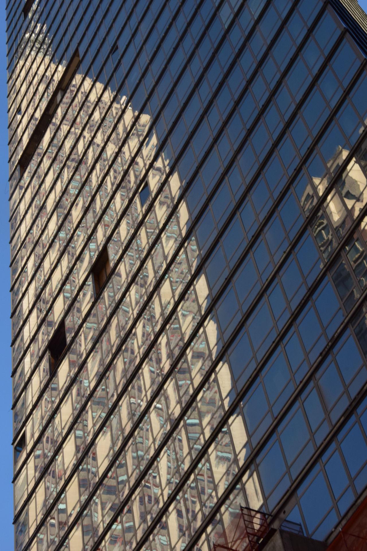 Reflection Architecture Empire State Building New York New York City Reflection Reflection In The Window Scyscraper The Architect - 2017 EyeEm Awards