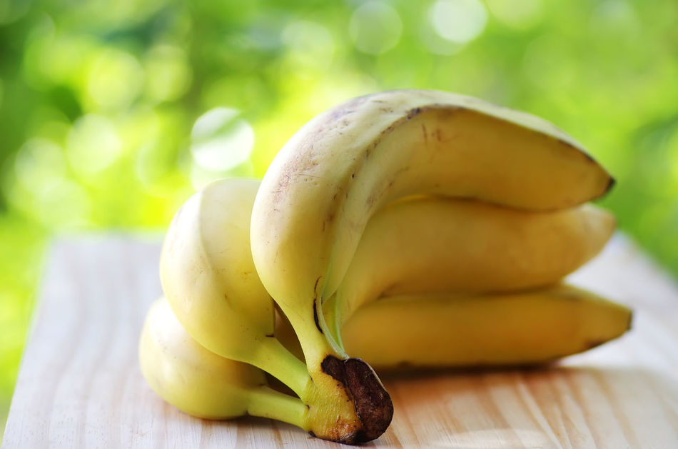 Beautiful stock photos of obst, Banana, Close-Up, Focus On Foreground, Freshness