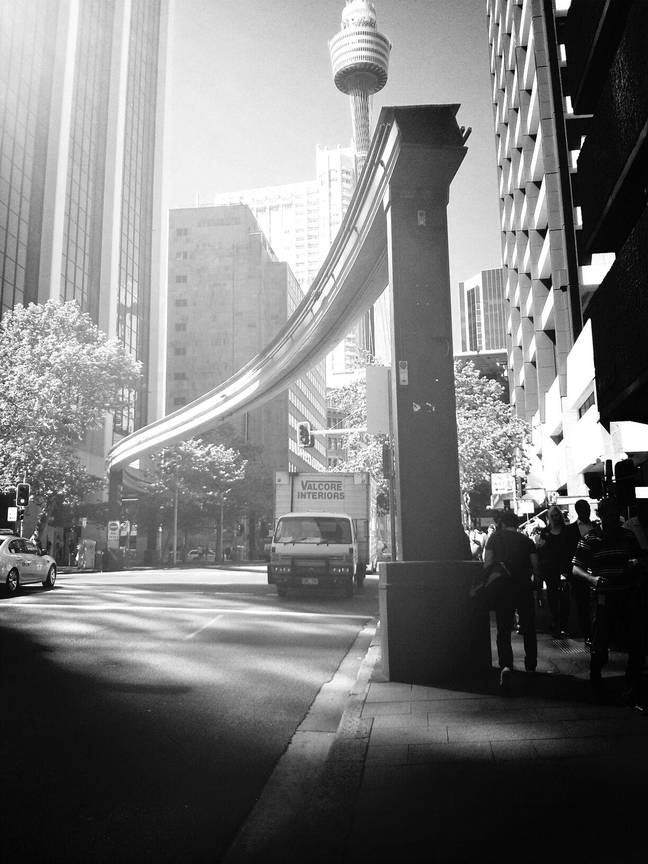Bye bye monorail. Monorail  Endoftheline