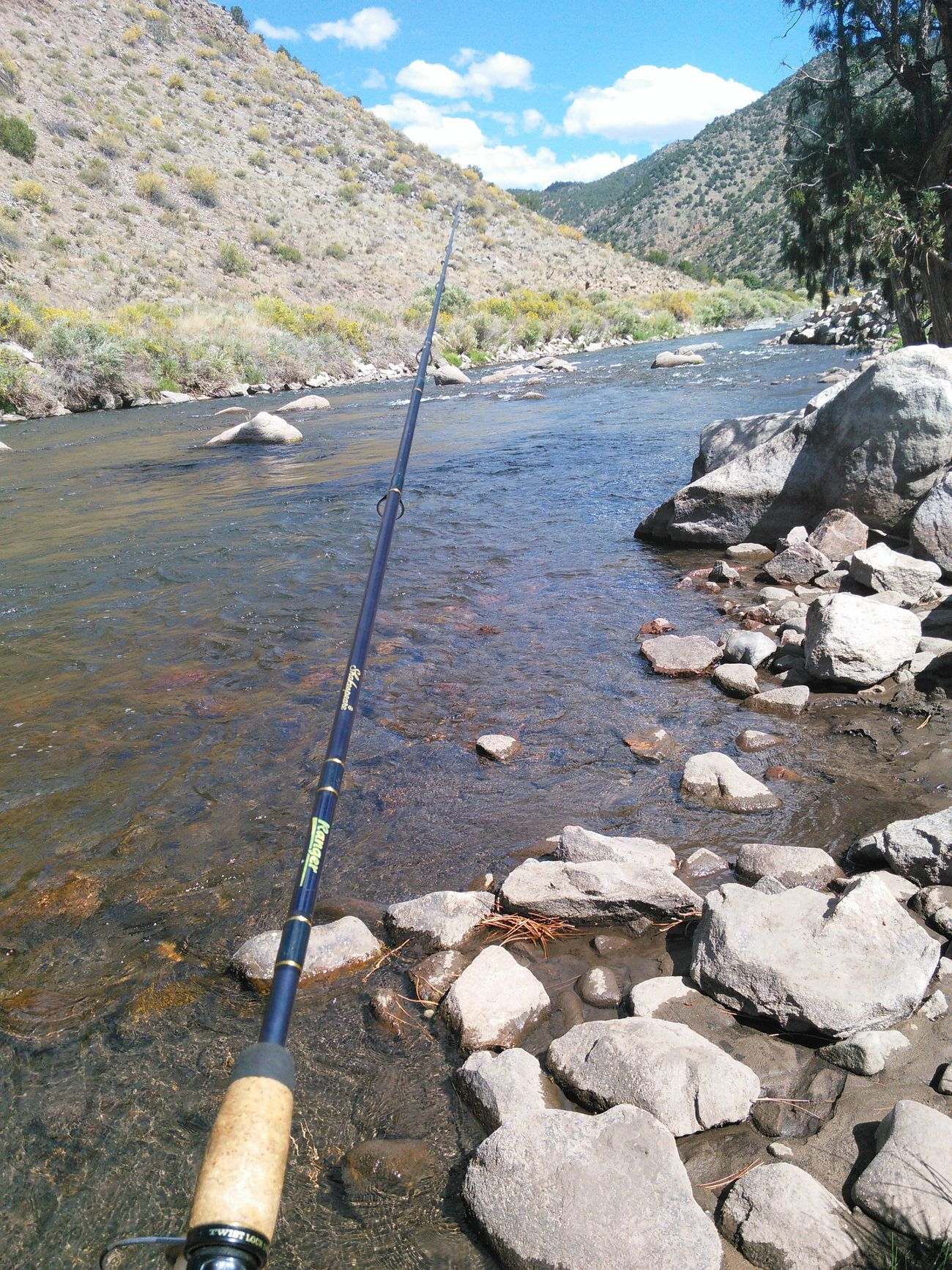 Lets Go Fishng Outdoors Canon City Arkansas River Colorado Mountains Godsbeauty Gods Creation