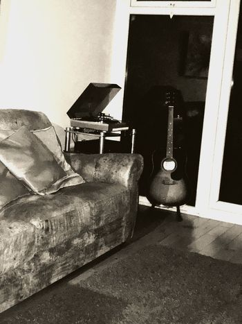 Guitar Vinyl Records Relaxing Music