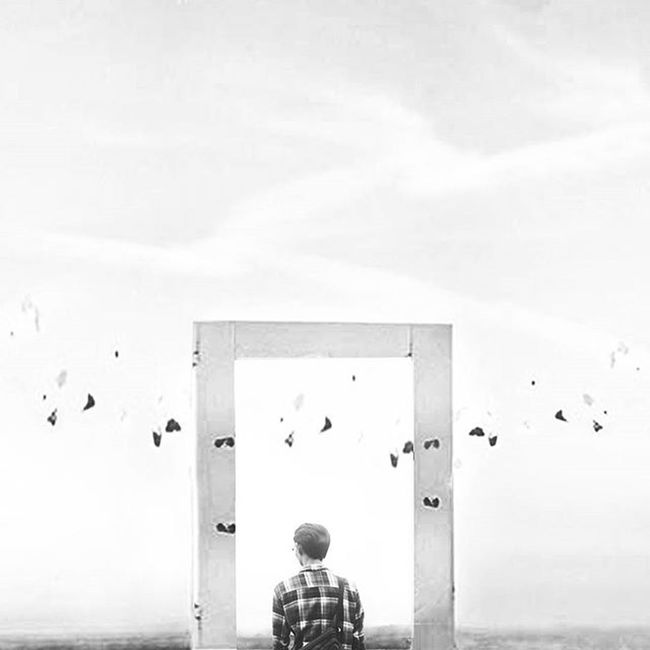 Maybe im not your past, but trust me your future is my own. Digitalart  Surrealism Surreal Surrealphotography Digitalimaging Creativevisuals Artofvisuals CreativeAV