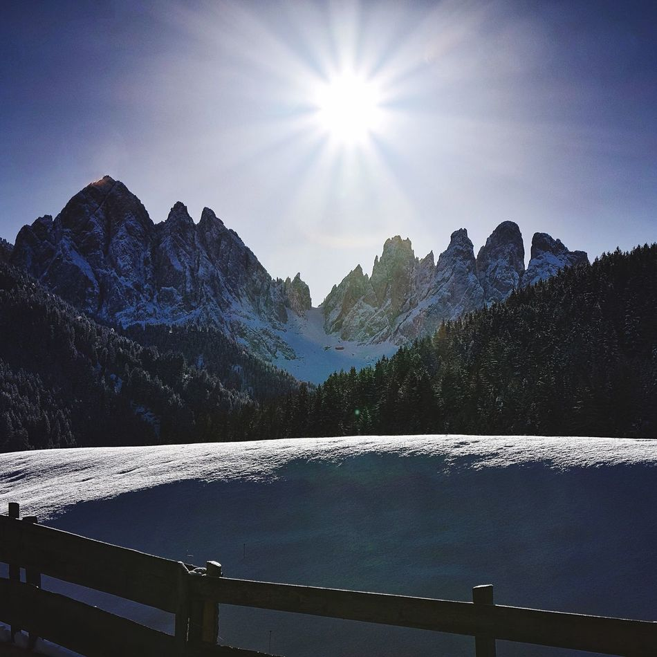 Val di funes Dolomites First Eyeem Photo Montagna Dolomites, Italy Dolomiti Sunrise Snow Italy Italia Alto Adige Southtyrol  Landscape Landscape_Collection Winter Share Your Adventure Outdoors Southtyrol  EyeEm Best Shots - Landscape EyeEm Nature Lover EyeEm Gallery EyeEm Best Shots Taking Photos Check This Out