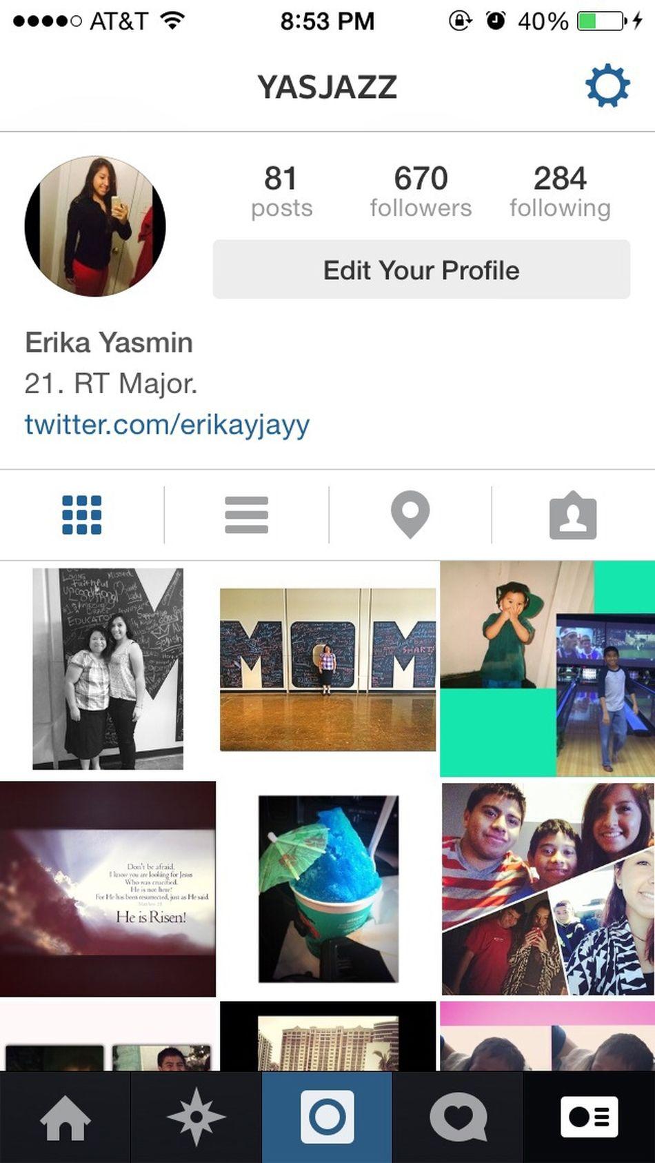Follow Me On Instagram Yasjazz