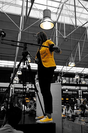 A friend of mine Working on the Event Global Sushi Challange 2015  😁👍🏼🍣 Sushi Sony A5000 Yellow Blackandwhite Light And Shadow Sushi Time