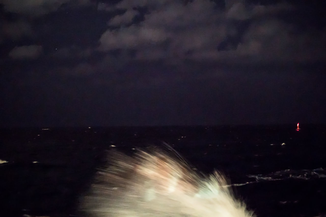 Splashing waves at night Beauty In Nature Color Cuba Cuba Collection Horizon Over Water Illuminated Malecon Motion Nature Night Night Photography No People Outdoors Power In Nature Scenics Sea Sky Splashing Waves Star Field Travelling Photography Water
